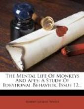 The Mental Life of Monkeys and Apes
