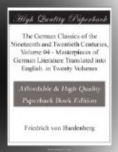 The German Classics of the Nineteenth and Twentieth Centuries, Volume 04