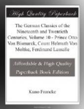 The German Classics of the Nineteenth and Twentieth Centuries, Volume 10