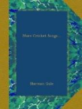 More Cricket Songs