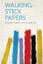 Walking-Stick Papers
