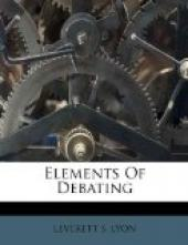 Elements of Debating