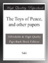 The Toys of Peace, and other papers