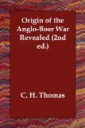 Origin of the Anglo-Boer War Revealed (2nd ed.)
