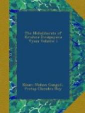 The Mahabharata of Krishna-Dwaipayana Vyasa, Volume 1