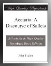 Acetaria: A Discourse of Sallets