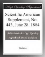 Scientific American Supplement, No. 443,  June 28, 1884