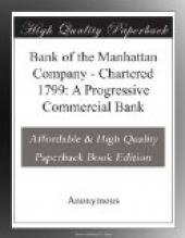 Bank of the Manhattan Company