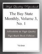 The Bay State Monthly, Volume 3, No. 1