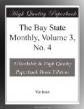 The Bay State Monthly, Volume 3, No. 4