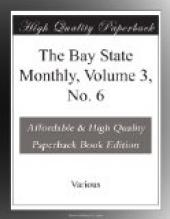 The Bay State Monthly, Volume 3, No. 6