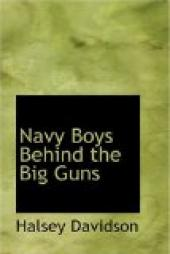 Navy Boys Behind the Big Guns