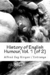 History of English Humour, Vol. 1 (of 2)