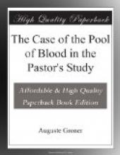 The Case of the Pool of Blood in the Pastor