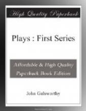 Plays : First Series