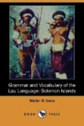 Grammar and Vocabulary of the Lau Language