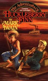 "Banned: ""The adventures of Huckleberry Finn"""