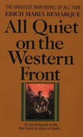 All Quiet on the Western Front Letter