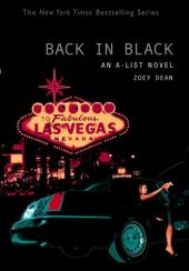 Back in Black: An a-list Novel