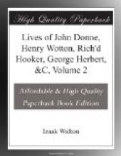 Lives of John Donne, Henry Wotton, Rich
