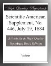 Scientific American Supplement, No. 446, July 19, 1884