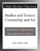 Studies and Essays: Censorship and Art