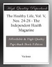 The Healthy Life, Vol. V, Nos. 24-28