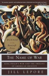 The Name of War: King Philip
